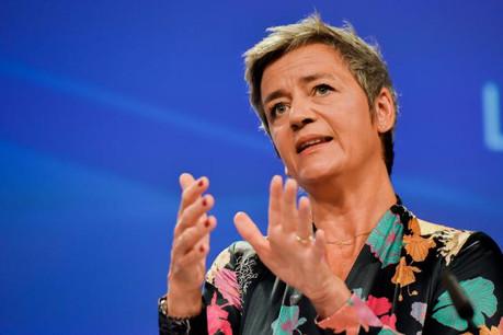 La Commissaire européenne en charge de la Concurrence, Margrethe Vestager, doit officialiser le montant de l'amende. (Photo: Commission européenne/Services audiovisuels)