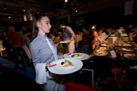 6.000 repas ont été servis pendant les cinq jours d'Expogast. (Photo: Nader Ghavami)