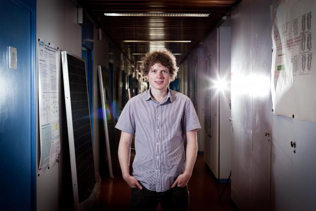Thibaut Britz (Talkwalker) était finaliste du Cyel en 2012. (Photo: Jessica Theis)