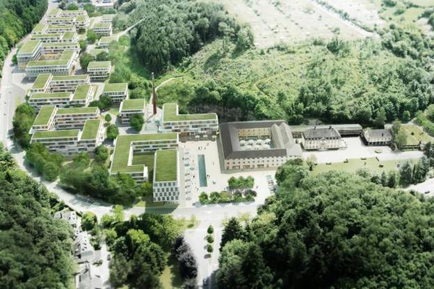 Outre des logements, le site accueillera des commerces de proximité et des restaurants, selon Lydie Polfer, bourgmestre de la capitale. (Photo: Jürgen Engel Architeckten/Fabeck Architectes)