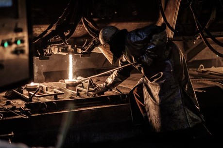 Bénéficiaire à la fin septembre, ArcelorMittal s'attend à une baisse de la rentabilité au quatrième trimestre de 2016. (Photo: Julien Becker)