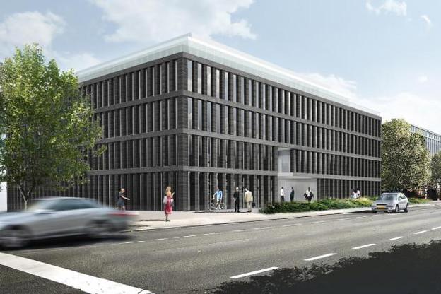 Livré fin 2018, le bâtiment Moonlight, situé route d'Arlon, accueillera la CSSF sur «56,25% de sa surface», selon l'autorité de contrôle du secteur financier. (Illustration: cabinet d'architectes Jim Clemes)