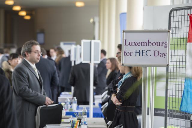 Le Luxembourg for HEC Day vise à donner davantage de visibilité aux entreprises du Grand-Duché auprès des étudiants. (Photo: Luxembourg for HEC Day)