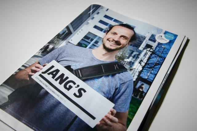 Le City Mag de Jang Fischbach paraît demain.  (Photos: Maison Moderne Studio)