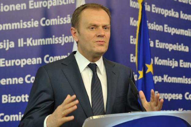 Donald Tusk, président du Conseil européen, a annoncé l'accord sur les réseaux sociaux. (Photo: Commission européenne / archives)