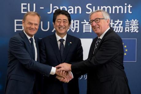 L'accord commercial entre l'UE et le Japon est synonyme d'une zone économique de 600 millions d'habitants qui représentera environ 30% du PIB mondial. (Photo: Commission européenne / archives)