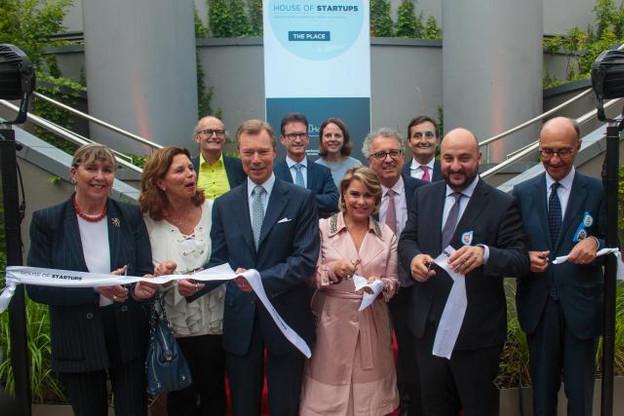 L'inauguration était rehaussée par la présence du couple grand-ducal. (Photo: Matic Zorman)
