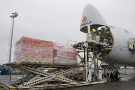 Plus de fret, plus de passagers: l'année 2013 s'annonce prometteuse pour l'aéroport du Luxembourg.  (Photo: Frédéric Humblet / archives)
