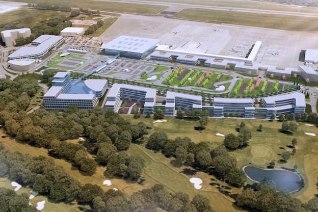 La vision de Lux-Airport – et donc du MDDI – met l'accent sur une utilisation maximale des possibilités du site du Findel, via la création de nouveaux services à destination des voyageurs et des entreprises situées autour de l'aéroport. (Image: MDDI)