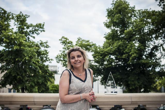Alexandra Kerckhof plébiscitée en tant que jeune cheffe d'entreprise innovante. (Photo: Mike Zenari)
