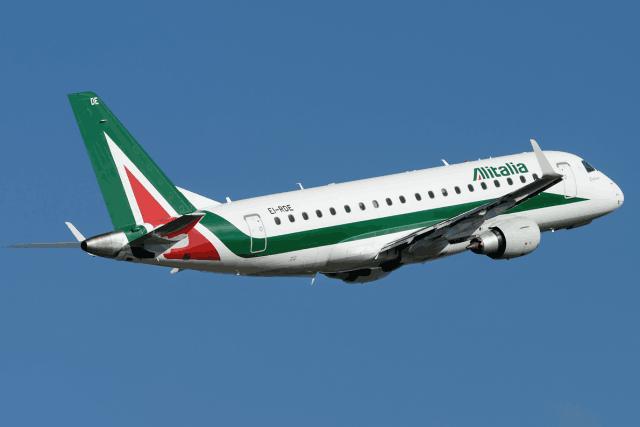 Selon Alitalia, la liaison entre Luxembourg et Milan devrait être assurée par un Embraer 175. (Photo: DR)
