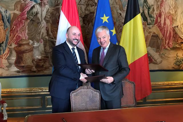 L'accord entre les deux gouvernements a été signé ce mercredi. (Photo: DR)