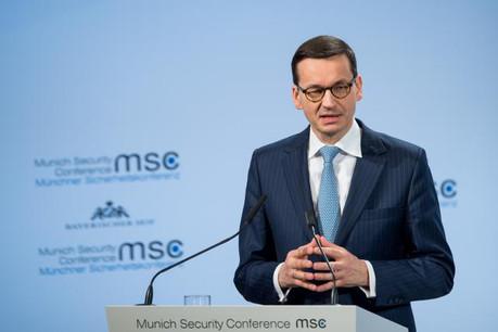 Mateusz Morawiecki, le Premier ministre polonais, a fait l'unanimité contre lui suite à ses propos pour le moins tendancieux sur l'holocauste.  (Photo: MSC / Mueller)