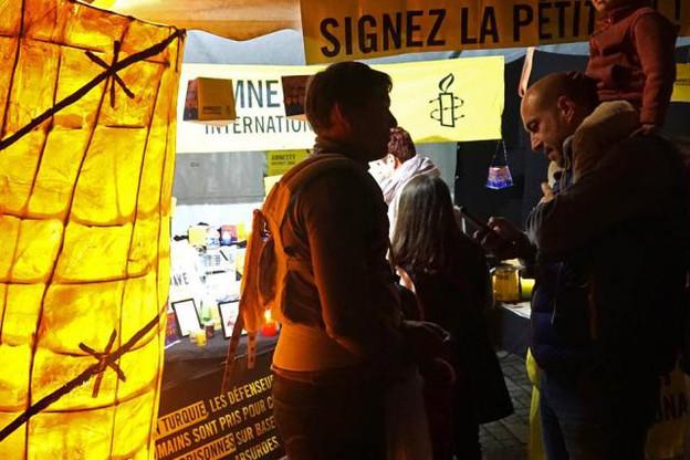Amnesty se mobilise pour la défense des droits de l'Homme en Turquie (Photo: Amnesty International Luxembourg)