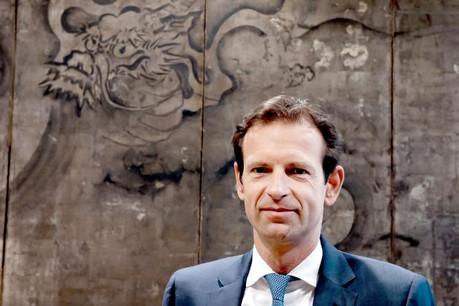 Patron au Luxembourg, Olivier Chatain l'est aussi – hors France – sur l'Union européenne pour le wealth management de Crédit Agricole. (Photo: Jessica Theis )