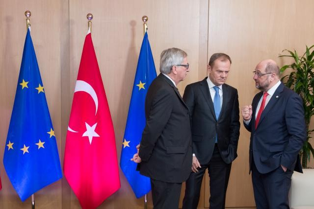 Les dirigeants européens se sont donné jusqu'au 17 mars prochain pour trouver un accord avec la Turquie dans le cadre de la gestion de la crise migratoire. (Photo: EC - Audiovisual Service)