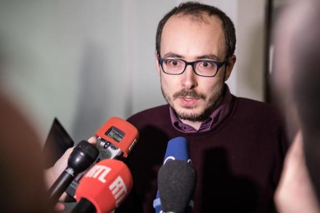 Antoine Deltour se voit reconnaître la protection de lanceur d'alerte, hormis pour la soustraction de documents de formation interne de PwC. (Photo: Edouard Olszewski)