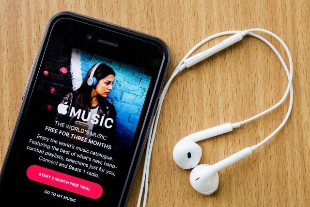 Apple essaie de rattraper son retard dans la guerre du streaming contre Spotify. (Photo: Shutterstock)