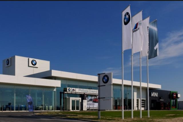 La concession de BMW Emond à Reims. (Photo: DR)