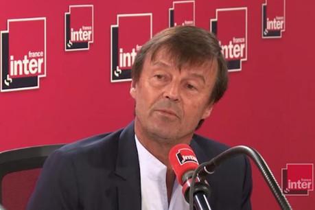 Nicolas Hulot annonce (à 5:51) sa démission sur France Inter. (Photo: capture d'écran / France Inter)