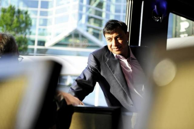 Le bonus personnel de Lakhsmi Mittal, en tant que président du conseil, a progressé de 199 % (Photo : David Laurent / Wide / archives)
