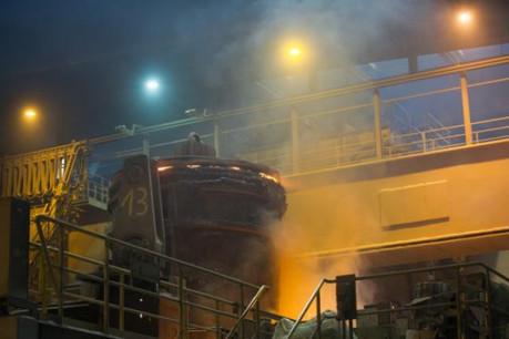 ArcelorMittal prétend avoir rénové son parc industriel avec les montants récoltés. (Charles Caratini / archives)
