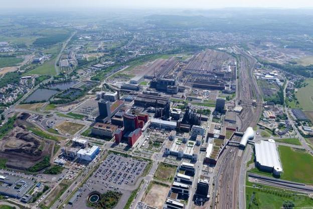 Une bonne coopération entre voisins: ArcelorMittal assurera bientôt 70% des besoins de chaleur de la cité universitaire de Belval. (Photo: ArcelorMittal)