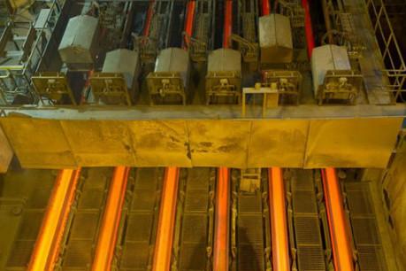 ArcelorMittal a procédé à 1,161 milliard de dollars de dépréciation d'actifs. (Photo: Charles Caratini / archives)
