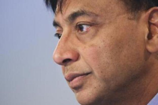 Lakshmi Mittal (ArcelorMittal): «Pour le quatrième trimestre, nos prévisions restent prudentes…» (Photo: Etienne Delorme/archives)