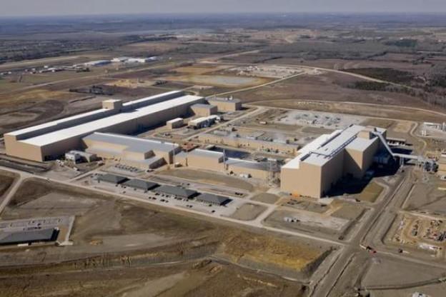 Le groupe russe investit déjà dans de grandes unités américaines (ici le site de Columbus-Mississipi). (Photo : Severstal / steelindustry)