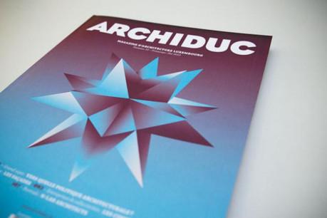Archiduc n°10 paraît aujourd'hui. Le dernier sous cette forme! (Photos: Maison Moderne Studio)