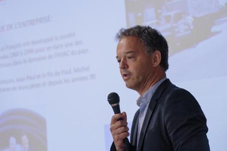 En juin dernier, Michel Reckinger a présenté son projet de lunettes connectées qui bénéficiera du programme «Digital Skills Bridge». (Photo: Matic Zorman)