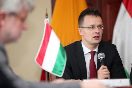 «Les Hongrois ont le droit d'exprimer leur opinion, et de décider avec qui ils veulent vivre et avec qui ils ne veulent pas vivre», estime Peter Szijjarto. (Photo: Licence C.C.)