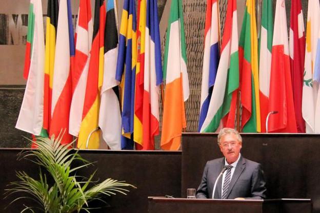 Jean Asselborn: «Une grande volonté et détermination existe pour faire de cette douzième présidence luxembourgeoise un succès pour l'Union européenne et ses citoyens.» (Photo: SIP)
