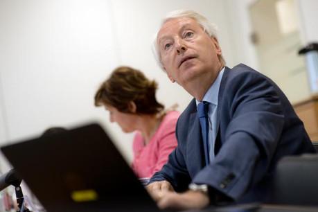 Le secteur luxembourgeois des assurances se porte bien souligne Claude Wirion pour le Commissariat aux assurances. (Photo: Christophe Olinger)