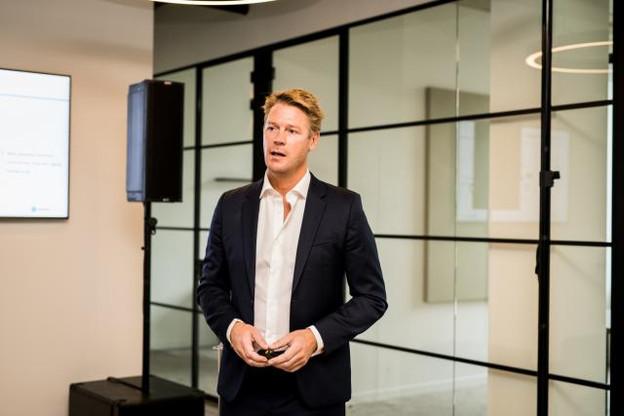 Tim Pittevils développe un système «bricks and clicks» pour atHome Finance. (Photo: atHome)
