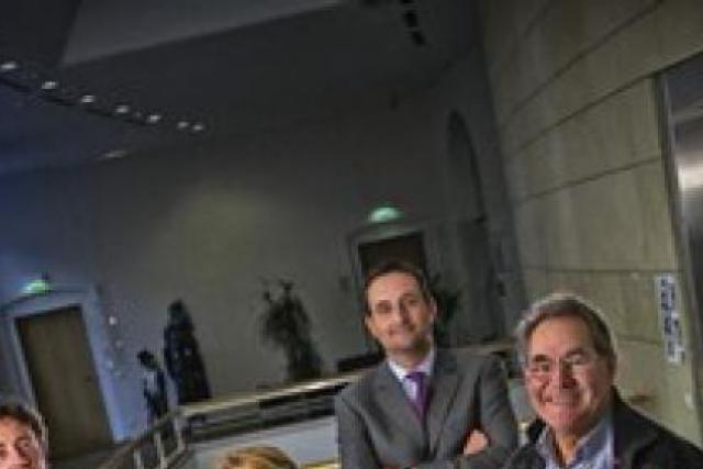 Le jury de l'édition 2008: Daniel Schneider, Marie-Jeanne Chèvremont-Lorenzini, Nicolas Buck et Norbert Friob   (Photo: Etienne Delorme)