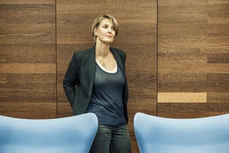 Caroline Lamboley: «La fonction RH réclame souvent des talents d'équilibriste.» (Photo: Mike Zenari)
