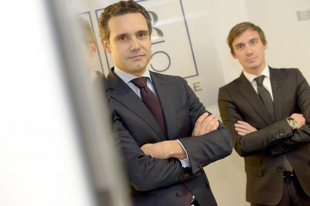 Jacques-Antoine Ormond et Sidney Bouvier ambitionnent de poursuivre les développements de 1875 Finance au Luxembourg. (Photo: Christophe Olinger)