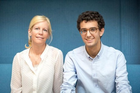 Derrière le projet, on retrouve Nathalie Dondelinger et Jonathan Levi.  (Photo: Maison Moderne Studio)