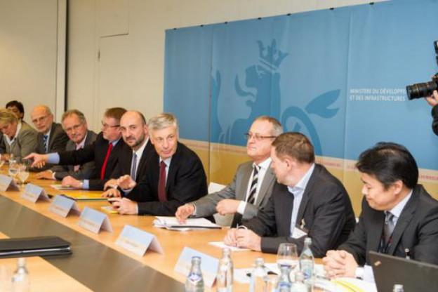 L'intérêt de la réunion a été quelque peu dilué dans la mixité des intérêts autour de la table. (Photo : Charles Caratini / archives)