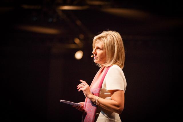 La CEO d'Axa Luxembourg, Marie-Hélène Massard, sera responsable de la nouvelle entité. (Photo: Maison Moderne)