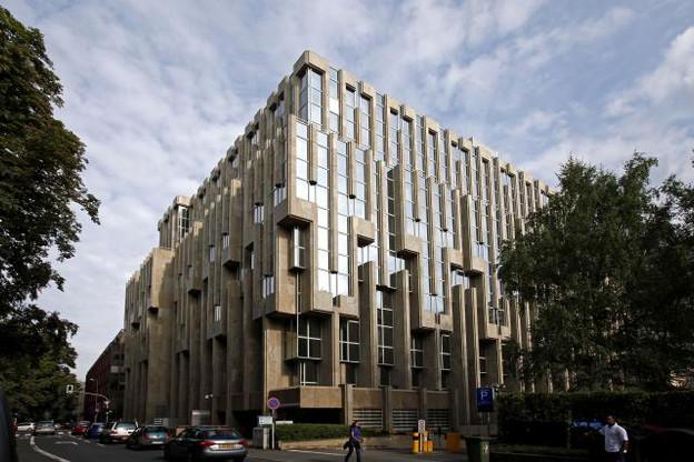 Le bâtiment est situé face au parc Kinnekswiss, à proximité du boulevard Royal et des commodités du centre-ville. (Photo: Olivier Minaire / archives)