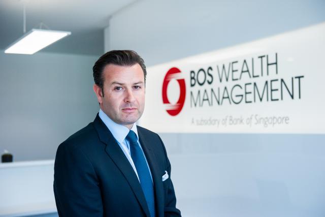 Anthony Simcic assure le développement de Bank of Singapore en Europe. (Photo: Lala La Photo)