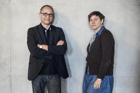 Thomas Barra et Virginie Laye travaillent pour le Belval Office qui pilote l'installation de l'Université du Luxembourg à Belval. (Photo: Mike Zenari)