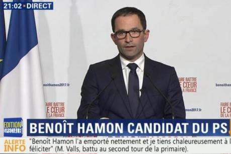 Benoît Hamon doit désormais rassembler dans son propre camp. (Photo: BFM TV / capture d'écran)