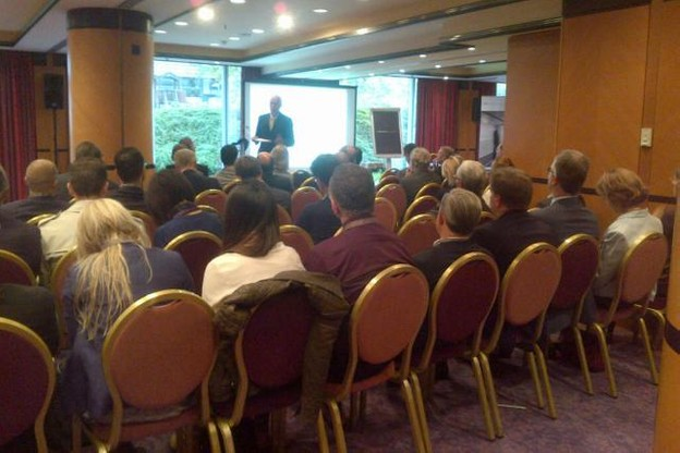 Les déjeuners-conférences de BSP sont des évènements très courus, surtout si on y parle Beps. (Photo: BSP)