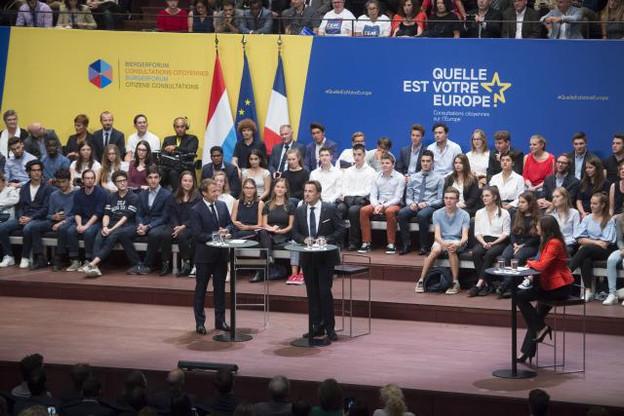 Une période de reconstruction s'ouvre pour l'Europe et sa nouvelle génération de leaders. (Photo: Anthony Dehez)