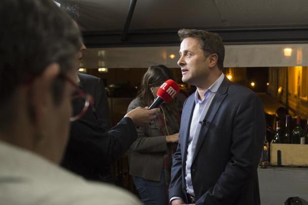 Xavier Bettel estime que c'est son gouvernement qui a agi pour plus de transparence fiscale. (Photo: Anthony Dehez)
