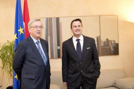 Xavier Bettel a toujours soutenu la campagne européenne de son prédécesseur à l'Hôtel de Bourgogne. Elle touche à son terme. (Photo: Christophe Olinger/archives)